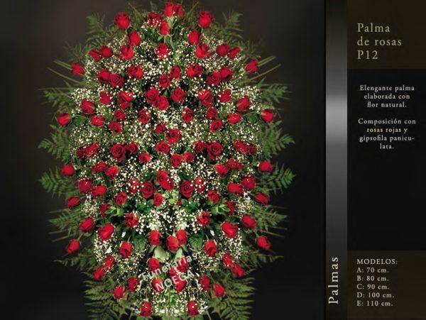 Palma de rosas P12