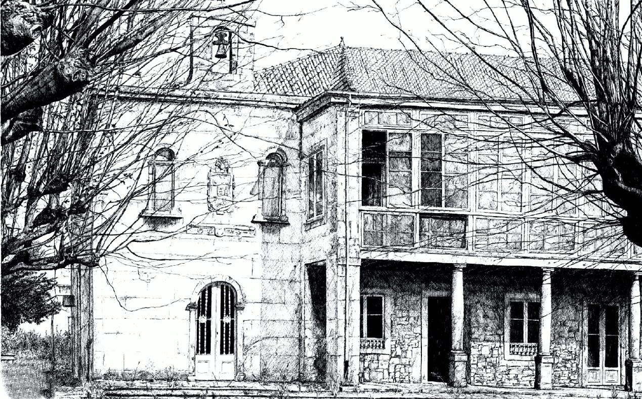 dibujo palacio